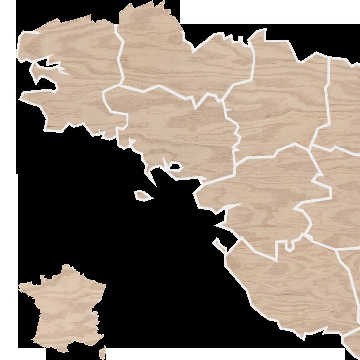 La carte des producteurs et fournisseurs de Micro Marché - Produits bios de proximité